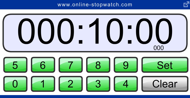online clock counter